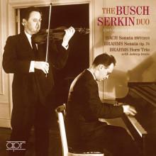 BACH/BRAHMS: SONATE PER VIOLINO E PIANO
