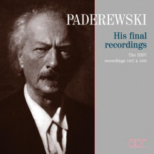 PADEREWSKY: His final recordings