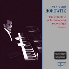 HOROWITZ - REGISTR. COMPLETE 1930/1936