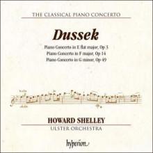 DUSSEK: Tre concerti per piano