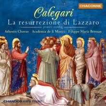 CALEGARI: La Resurrezione di Lazzaro
