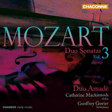 MOZART: Sonate a due KV 376 - 378 - 526