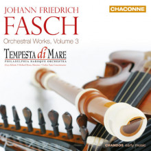 Fasch: Opere Orchestrali Vol.3