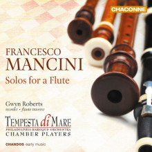Mancini Francesco: Solos For A Flute