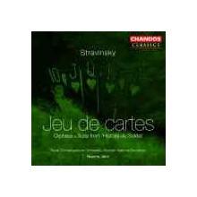 Stravinsky: Jeu De Cartes - Orpheus
