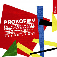 PROKOFIEV: 4 portraits from the gambler