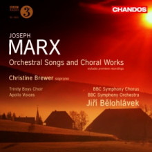 Marx: Orchestral Songs