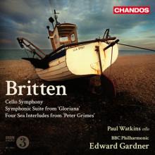 BRITTEN: Sinfonia per cello e Orchestra