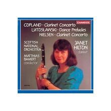 COPLAND - LUTOSLAWSKI: Concerti per clarin