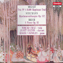 Mozart - Schumann - Bruch: Clarinet Trios