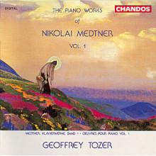 MEDTNER: Musica per piano Vol.1