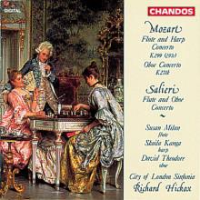 MOZART - SALIERI: Concerti per flauto e ar