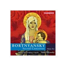 BORTNYANSKY: Concerti Sacri Vol.2