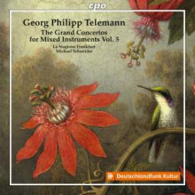 TELEMANN: The Grand Concertos.....Vol.5
