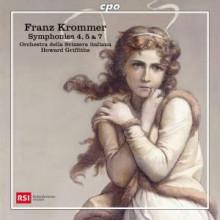 Krommer: Sinfonie Nn.4 - 5 & 7