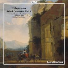 TELEMANN: Concerti per fiati Vol.1