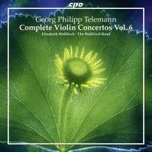 TELEMANN:Complete Violin Concertos - Vol.6