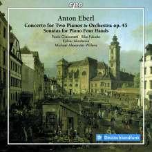 EBERL A.: Concerto per due piano e orch.