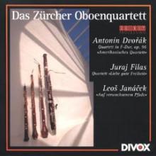 DVORAK/FILAS/JANACEK: Quartetti x fiati