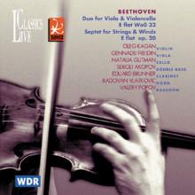 BEETHOVEN: Duo per viola e violoncello