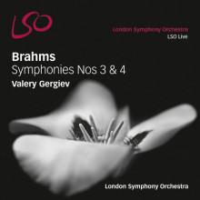 BRAHMS: Sinfonie NN.3 & 4