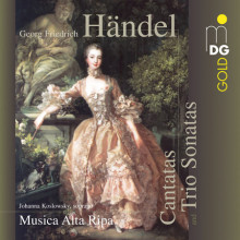 HANDEL: Cantatas and Trio Sonatas