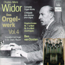 WIDOR: Opere per organo Vol. 4
