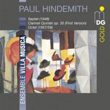 HINDEMITH: Septet (1948) - Quintet op.30 -
