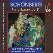 SCHOENBERG: Pierrot Lunaire op. 21 etc.