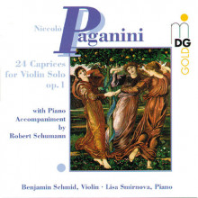 PAGANINI: 24 Caprices for Violin op.1 wi