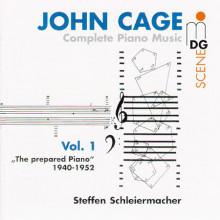 CAGE: Integrale musica per piano Vol. 1