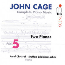 CAGE: Integrale musica per piano Vol. 5
