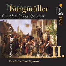BURGMULLER: String Quartets Opp. 4 & 9
