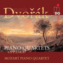 DVORAK: Piano Quartet Opp.23 & 87