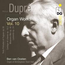 DUPRE': Opere per organo Vol.10