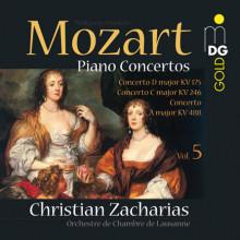 MOZART: Concerti per piano Vol. 5