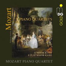 MOZART: Piano Quartets KV 478 & KV 493