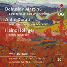 MARTINU - HOLLIGER - DORATI: Opere x oboe e