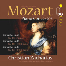 MOZART: Concerti per piano Vol. 6
