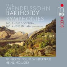 MENDELSSOHN: Symphony No. 3 & 4