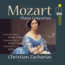 MOZART: Concerti per piano Vol. 7