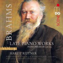 BRAHMS: Piano Works Vol. 3 (op. 116 - 119)
