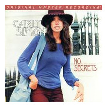 CARLY SIMON: No Secrets