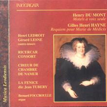 Du Mont - Hodemont - Hayne: Mottetti - Requiem