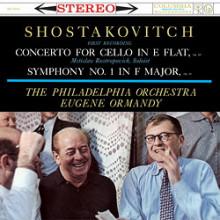 SHOSTAKOVICH: Concerto per violoncello - N.1 Op.107 - Sinfonia N.1