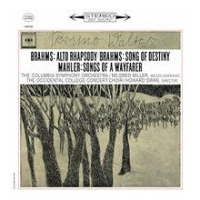 "Brahms: ""Alto Rhapsody"" - ""Song Of Destiny"" Gustav Mahler: ""Songs Of A Wayfarer"""