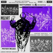 MOZART: Notturno per quattro orchestre