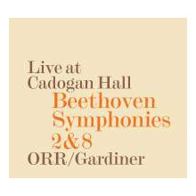 Beethoven:sinf.2 & 8 - Live At Cadogan Hal