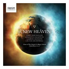 A NEW HEAVEN: Choral Music of XX century