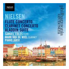 NIELSEN:Flute Concerto - Clarinet Concerto